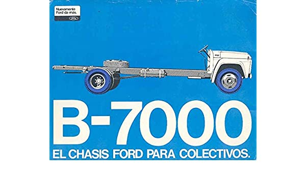 Amazon.com: 1972 Ford B7000 Truck Brochure Brazil: Entertainment Collectibles