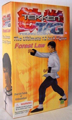 "Tekken Tag Tournament 12"" Figure Forest Law"