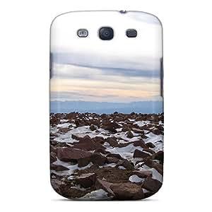 New Tpu Hard Case Premium Galaxy S3 Skin Case Cover(boulders)