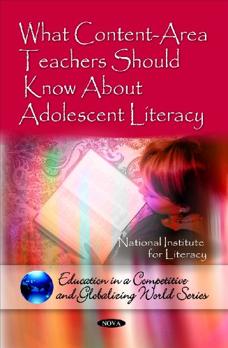 What Content-Area Teachers Should Know About Adolescent Literacy (Education in a Competetive and Globalizing World) (Edu