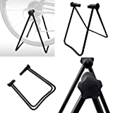 Vilobyc Universal Flexible Foldable Bike Wheel Hub Display Stand Floor Storage Rack Bicycle Repair Kick Stand for Parking Holder fit wheel size 24-29 inch