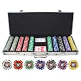 500 Piece Big Slick 11.5g Poker Chip Set (Small Image)