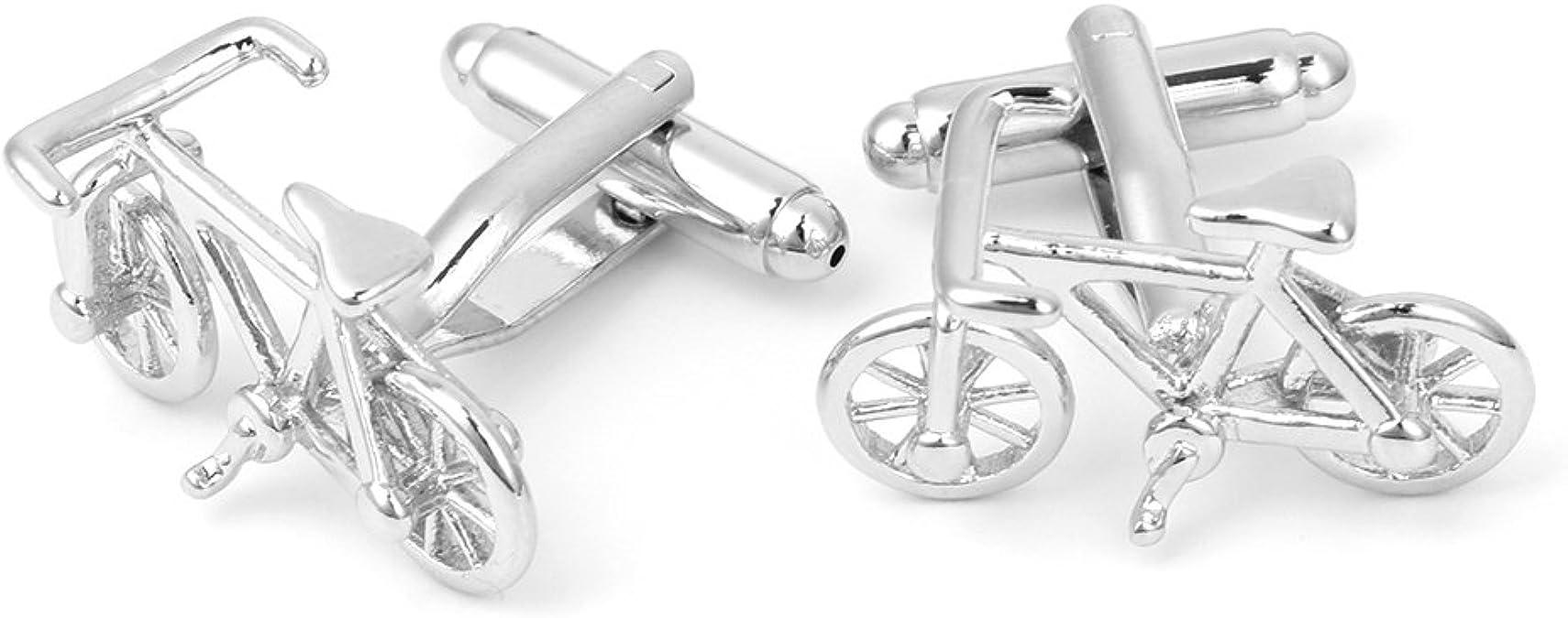 Gemelos para hombre, diseño de bicicleta de Balain, accesorios ...