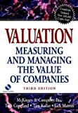 Valuation, McKinsey & Company, Inc. Staff and Tom Copeland, 0471397482