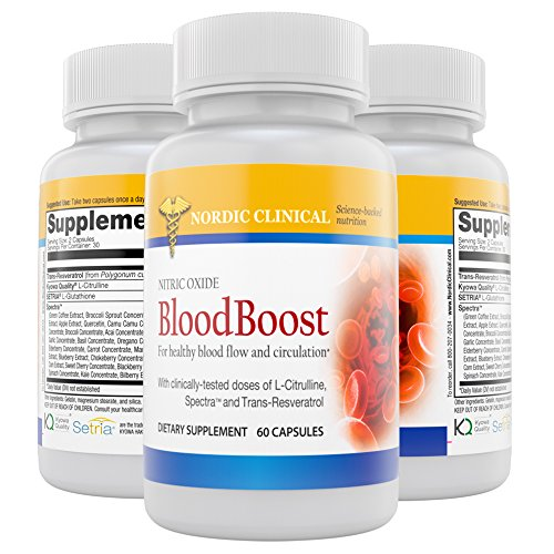 Clinicals BloodBooster capsules Support Productions