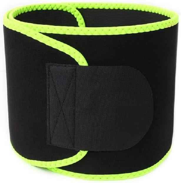 Hivexagon Cintur/ón de Cintura Ajustable Faja Reductora para Sudar Perder Peso en Hombres y Mujeres Ejercicios de Gimnasia Fitness Apto para Talla de hasta