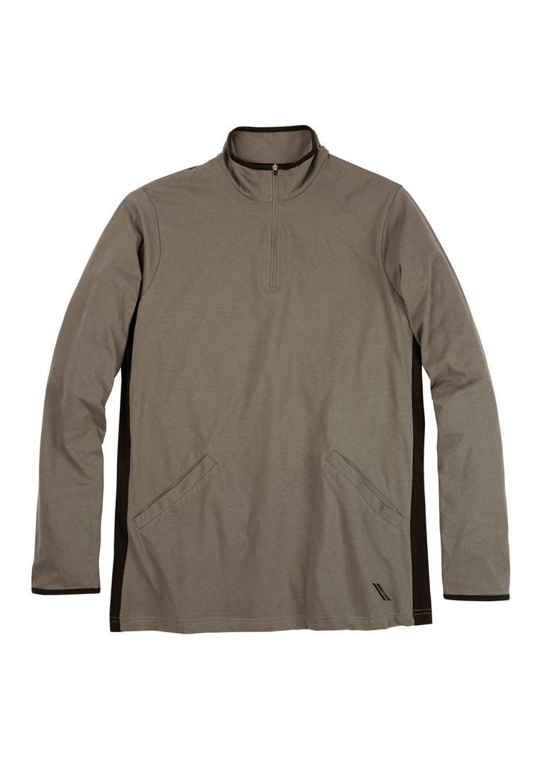 KingSize Mens Big /& Tall 1//4 Zip Sweater Fleece