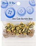 Dress It Up Embellishments-Sew Cute Bumble Bees 1 pcs sku# 1779868MA