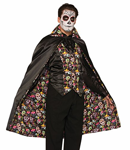 Day Of Dead Cape (74686 Day Of The Dead Cape Only)