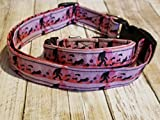 Pink Bigfoot Collar Dog Cat Collar