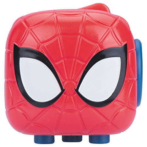 Antsy Labs Marvel Character Fidget Cube Spider-Man Design - Six Functional Sides w/ Anxiety Relief Stone (Tactile Cube)