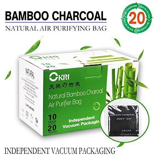 Natural Air Purifier and Diaper Pail Deodorizer Bamboo Carbon Filters/Bamboo Charcoal Filters,Shoe Deodorizer and Odor Eliminator Baby Set of 20 Diaper Pails & Refills