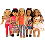 Clothing Accessories Best Deals - Nashville Toy Co Doll Clothes Fits 18 Inch American Girl Dolls - 16 Piece Premium Quality Clothing And Accessories Lot
