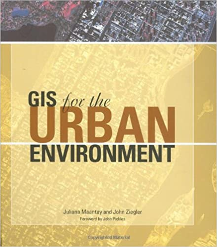 Amazon remote sensing gis books gis for the urban environment fandeluxe Images