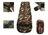 A Camo Ultralight Adult Sleeping Bags 3 Season Camping Hiking Travel Sleeping Bag Quilt Waterproof