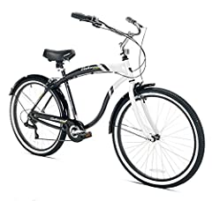 The Kent Oakwood Aluminum Cruiser is the ultimate beach cruiser. With light weight, rust resistant aluminum frame and high quality components, this gorgeous beach cruiser will look great for years to come as well as be easy to ride and handle...