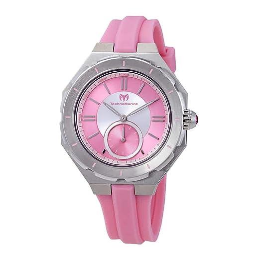 TechnoMarine TechnoMarine Reloj de Mujer Cuarzo Suizo TM-118003: Amazon.es: Relojes