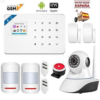NOVEDAD 2018 Kit alarma V-18 III inalámbrica GSM y WiFi para ...