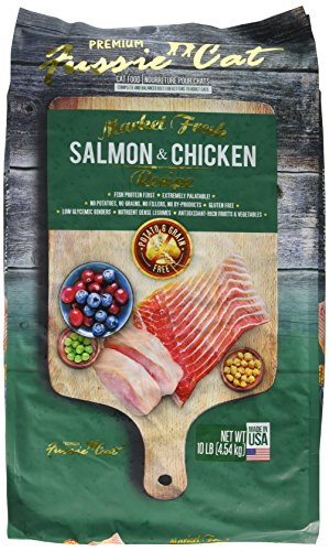 Fussie Cat 32102 Market Fresh Salmon & Chicken Recipe (1 Pack), 10 Lb/One Size