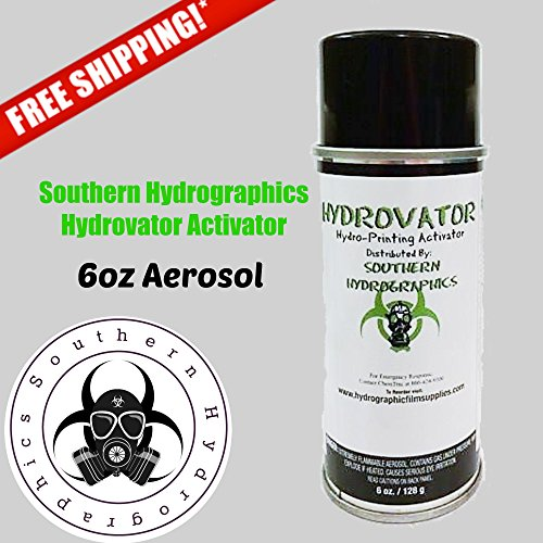 Hydrographic Film - Water Transfer Printing - Hydro Dipping 6 oz. Aerosol Activator by Southern Hydrographics