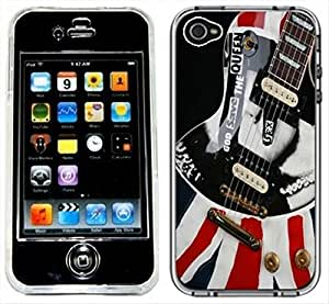 God Save The Queen Punk Rock Handmade iPhone 4 4S Black Case
