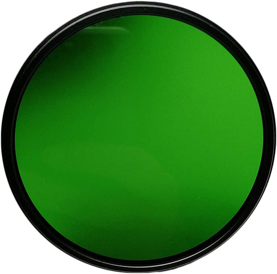 Balaweis 77mm Green Full Color Lens Filter for DSLR Camera Lens Accessory with 77MM Filter Thread