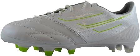 Adidas F50 Adizero TRX FG Lea Zapatillas de Futbol Soccer Cuero Blanco para Hombre