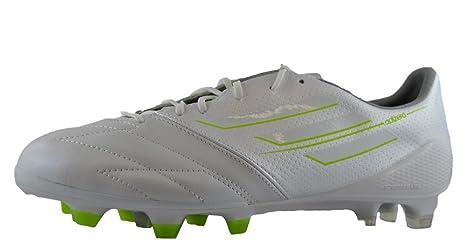 watch 807f3 f8601 Adidas F50 Adizero TRX FG Lea Zapatillas de Futbol Soccer Cuero Blanco para  Hombre
