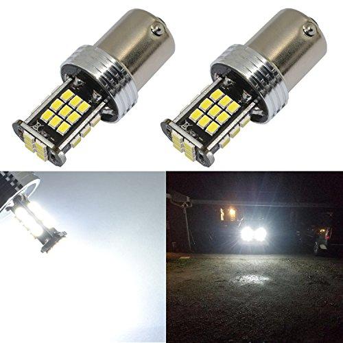 Led 1156 Car Bulbs - Alla Lighting Super Bright BA15S 1156 LED Lights Bulbs 2000 Lumens 12V LED 7506 P21S 1156 Bulb 3020 30-SMD 6000K Xenon White 7506 1156 LED Bulbs Cars Trucks Turn Signal, Reverse, Brake Stop Tail Light