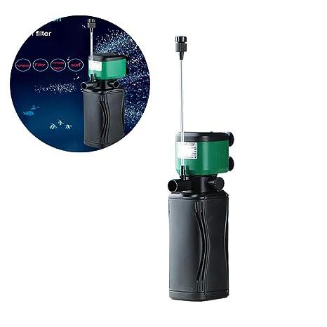 DJLOOKK Filtro Acuario 250/350/450/650 Aquarium 3-In-1