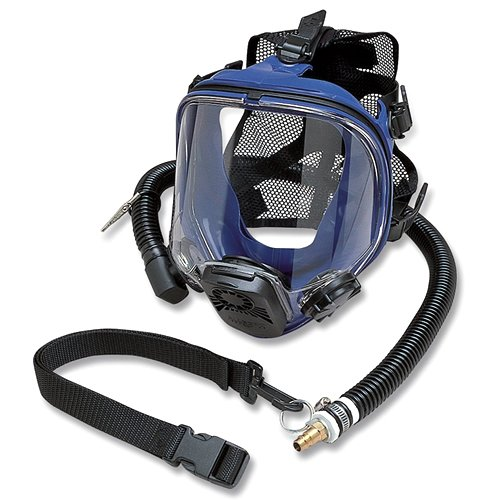 Allegro Industries 9901 Constant Flow Supplied Air Respirator, Full Face, (Standard Supplied Air Respirator)