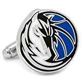 Mens Nickle Plated NBA Dallas Mavericks Cufflinks
