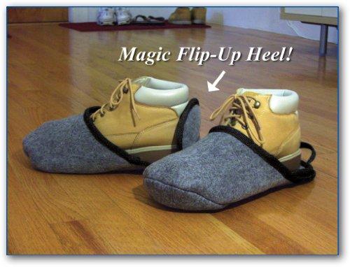 Chaussures Et Bottes Pantoufles Bigfoot Poussoirs Overshoe Pulls. Grand Correspond À La Taille Des Hommes 10-12 Ou Womans 10 Jusquà