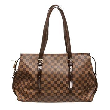 Louis Vuitton , Sac à main porté au dos pour femme Brown Damier Ebene