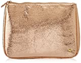Stephanie Johnson Cassandra Large Zip Top Cosmetic Bag, Tinseltown Rose Gold