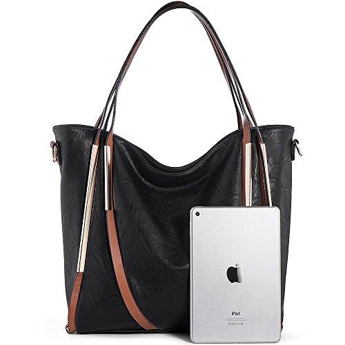 720ed15f1a JOYSON Women Handbags Top-Handle PU Leather Tote Shoulder Bags Satchel Purse  for Ladies
