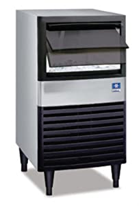 "Manitowoc UDE-0080A 19 3/4"" Air Cooled Undercounter Full Size Cube Ice Machine with 31 lb. Bin - 102 lb"