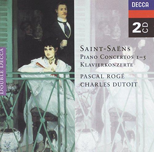 Saint-Saëns: Piano Concertos Nos. 1-5 (2 CDs) (Album Cd Concertos Piano)