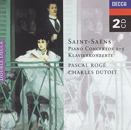 Saint-Sans: Piano Concertos Nos. 1-5 (2 CDs)