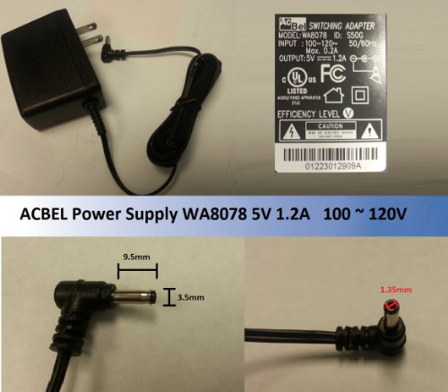 Genuine WA8078 1200mA Switching Adapter