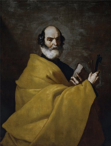 The Polyster Canvas Of Oil Painting 'Ribera Jose De San Pedro Ca. 1632 ' ,size: 16 X 21 Inch / 41 X 53 Cm ,this Imitations Art DecorativeCanvas Prints Is ()