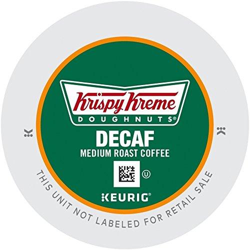 Krispy Kreme Doughnuts Decaf K-Cup Portion Pack For Keurig Brewers 24 Count 12