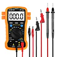 Multimeter BT-39C Auto Range Digital Avometer Universal Meter 6000 Counts With New Substitutable Fixed Mode , NCV, Diode , AC & DC Voltage, AC & DC Current, Resistance, Capacitance, Frequency