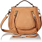 Rebecca Minkoff Small Vanity Saddle, Almond