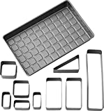 Wilton 2105-0801 Countless Celebrations Letters & Numbers Non-Stick Bakeware Set