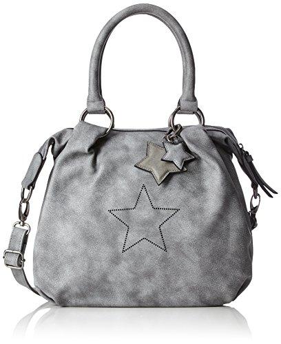 s.Oliver (Bags) 39.711.94.6047 - Bolsos bandolera Mujer Gris (Street Grey)