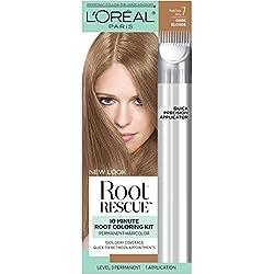 L'Oreal Paris Root Rescue 10 Minute Root Coloring Kit, Dark Blonde 7