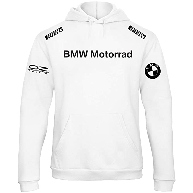 Sudadera con Capucha Deportiva Sweatshirt Hombre BMW MPower Motorrad Team Deutschland Motorsport Tuning Coche Moto Auto