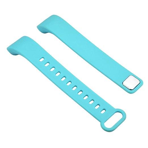 Y5 Smart Watch Brazalete Relojes para Repuesto de Unisex Silicone Correa Suave Pulsera de Deportiva Strap Manera Wristbands Color sólido Watch Banda: ...