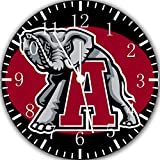 Alabama Crimson Tide Frameless Borderless Wall Clock X53 Nice For Gift or Room Wall Decor
